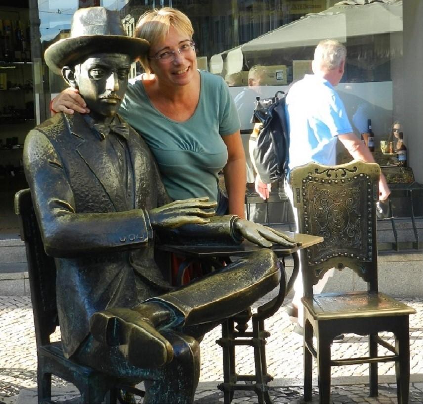 Lisbona – Passeggiando con Fernando Pessoa incontro Josè Saramago